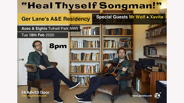 Ger Lane's 'Heal Thyself Songman'