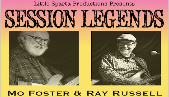 Session Legends - Ray Russell & Mo Foster