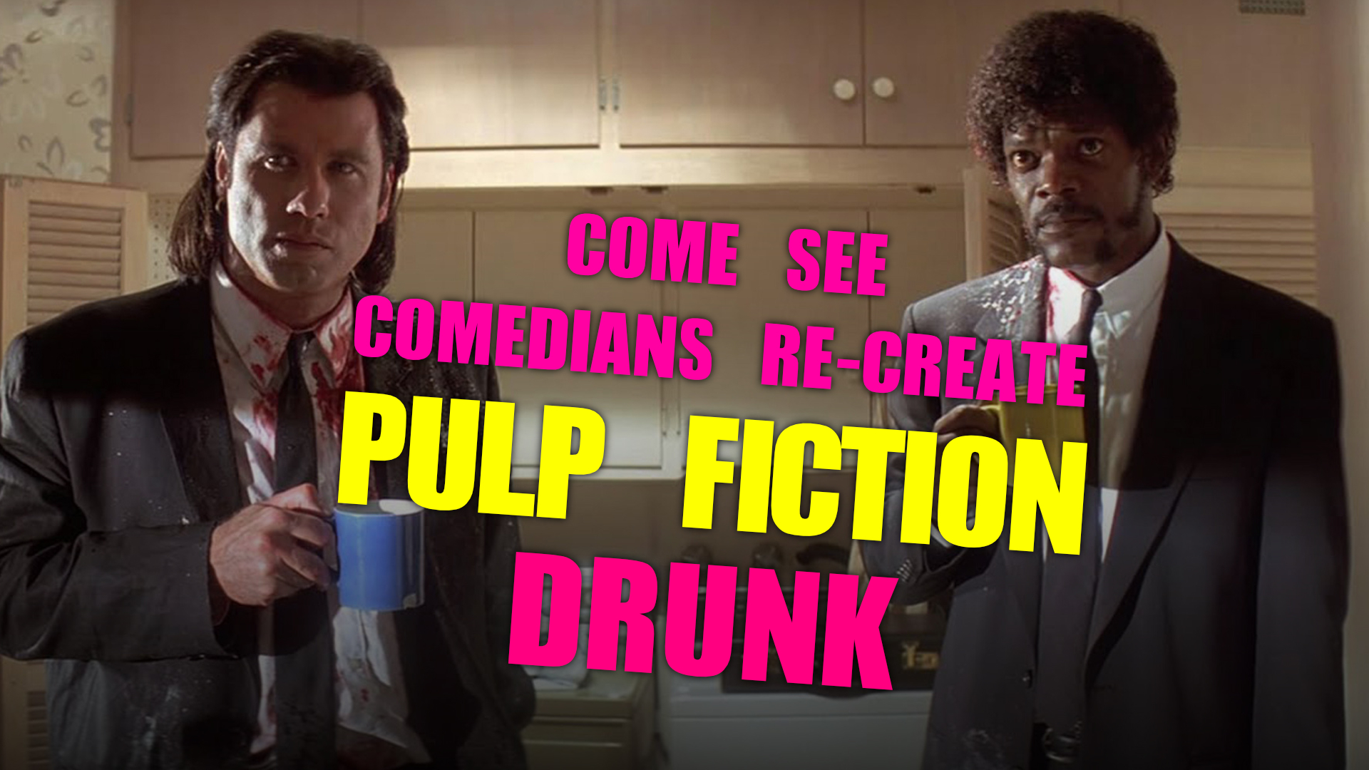 Comedians Cinema Club: Pulp Fiction