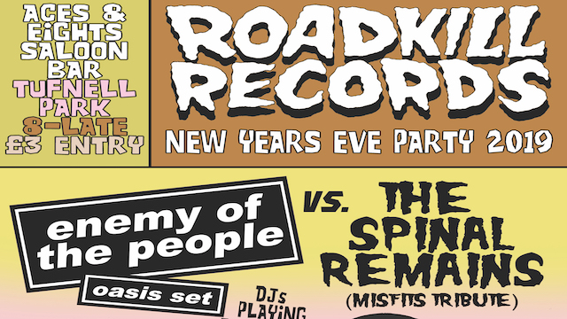 Roadkill Records NYE 2019