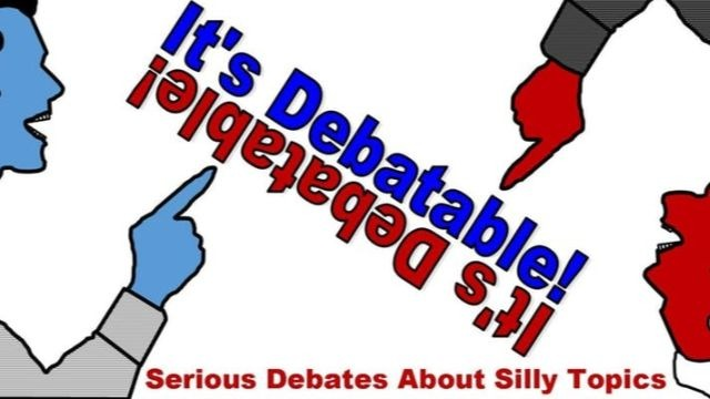 It's Debatable! a comedy debate show